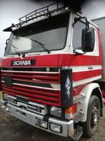 bakwagen vrachtwagen Scania 142 1985