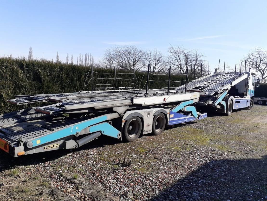 autotransporter vrachtwagen DAF CF 85 2015