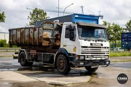 containersysteem vrachtwagen Scania P113 Ampliroll 1994