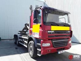 containersysteem vrachtwagen DAF CF 410 85 6x4 palfinger 2011