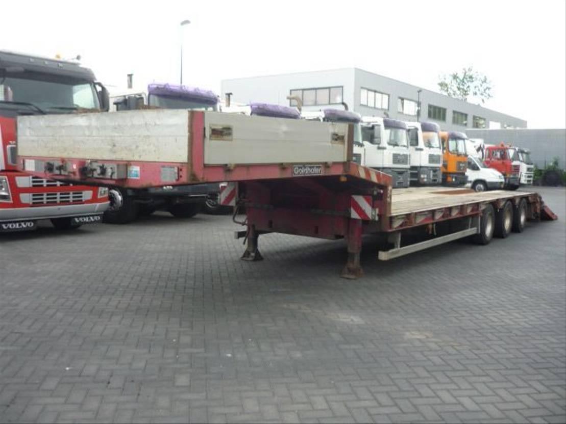 semi dieplader oplegger Goldhofer STN 13-39/80   3 AXLE LOWLOADER 2009