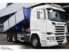 kipper vrachtwagen > 7.5 t Scania R580-V8 Euro 6, 6x4 Big axle, Retarder, Truckcenter Apeldoorn 2016