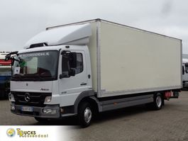 bakwagen vrachtwagen Mercedes-Benz Atego 918 Euro 5 + ADR + Dhollandia Lift 2012