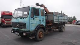 kipper vrachtwagen > 7.5 t Mercedes-Benz 1928 kipper bomenkraan 1981