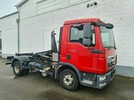 containersysteem vrachtwagen MAN TGL 12 BB TGL 12.220 BB Palfinger Cityabrollkipper T 07 S bis 4 m 2011
