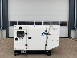 generator SDMO J66 C2 John Deere Leroy Somer 66 kVA Silent generatorset 2009