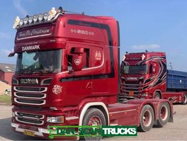 standaard trekker Scania R580-V8 Hydr. system Full Air suspension special Interior 2900mm weelbase 2016
