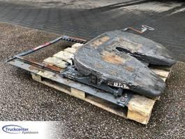 Chassisdeel vrachtwagen onderdeel JOST Schuifschotel, Sliding 5th wheel, Schiebe kupplung