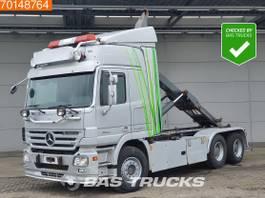 containersysteem vrachtwagen Mercedes-Benz Actros 2655 6X4 V8 Retarder Big-Axle Euro 4 2007