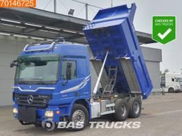kipper vrachtwagen > 7.5 t Mercedes-Benz Actros 2655 6X4 V8 Retarder 11m3 Big-Axle Steelsuspension Euro 4 2007