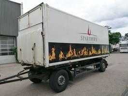 overige vrachtwagen aanhangers Kögel AWE 18T, Koffer, BDF 2000