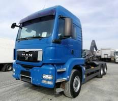 containersysteem vrachtwagen MAN TGS 26 6x6H BL Abroller Meiller 20.65 (34) 2010
