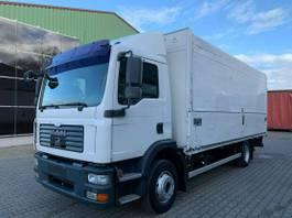 bakwagen vrachtwagen MAN 15.280 Getränkekoffer Eur4 4x2 LBW Automatik 2007