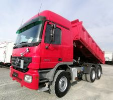 kipper vrachtwagen > 7.5 t Mercedes-Benz 2646 6x4 Meiller Dreiseitenkipper Retarder (23) 2005
