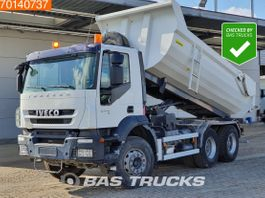 kipper vrachtwagen > 7.5 t Iveco Trakker 260 6X4 AD260T33 Manual Big-Axle Steelsuspension Euro 5 2011