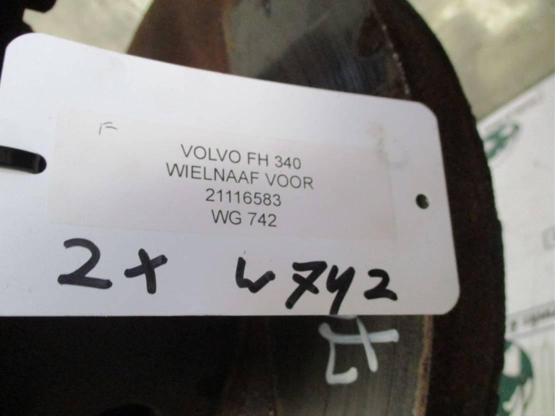 Naaf vrachtwagen onderdeel Volvo 21116583 WIELNAAF VOOR EURO 6