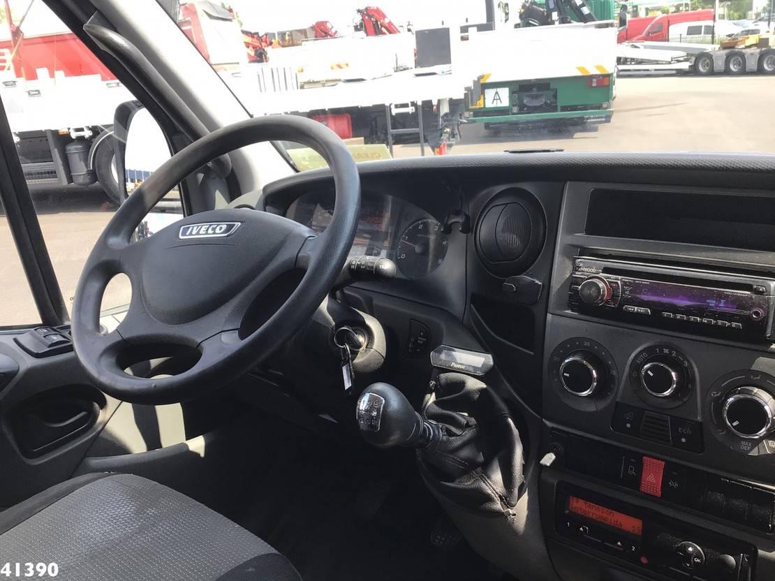 autotransporter vrachtwagen Iveco 65C17 DOKA Hydraulisch schuifplateau 2013