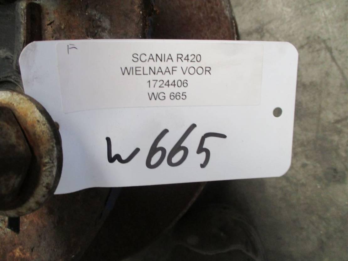Naaf vrachtwagen onderdeel Scania 1724406 WIELNAAF VOOR EURO 5