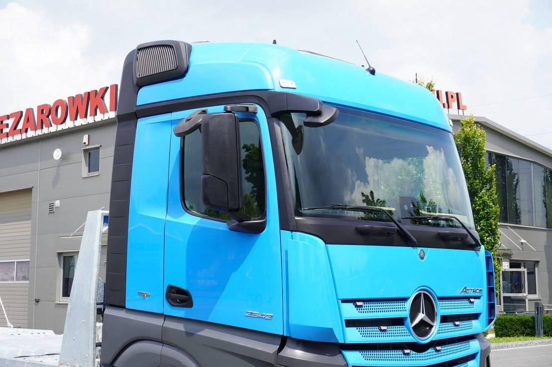 autotransporter vrachtwagen Mercedes-Benz Actros 2542 , E6 , MEGA , NEW BODY , car tow 10T , hydraulic ram 2016