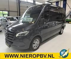gesloten bestelwagen Mercedes-Benz Sprinter 319 319CDI L2H2 V6 Nieuw Airco Navi 3500KG Trekhaak ! 2021
