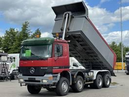 kipper vrachtwagen > 7.5 t Mercedes-Benz 4453 V8 8x6 KIPPER RETARDER 2002