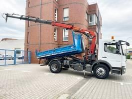containersysteem vrachtwagen Mercedes-Benz Atego 1218 K 4x2 Atego 1218 K 4x2 mit Kran Palfinger PK9501 2008