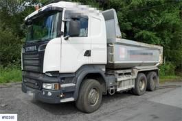kipper vrachtwagen > 7.5 t Scania R580 6x4 tipper truck 2014