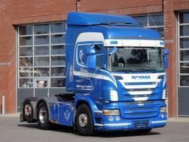 standaard trekker Scania R500 V8 R500 Highline 6x2 - PTO/Hydraulic - Manual - Retarder - 2.9 WB - Full air 2009