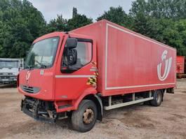 bakwagen vrachtwagen Renault Midlum 180 dCi DOESNT START 2006