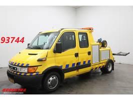 takelwagen bedrijfswagen Iveco 50c15 DC 7-pers. Omars Lier Bril 2002