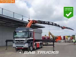 standaard trekker Mercedes-Benz 4151 8X4 32,4 Meters! Crane Kran Palfinger PK85002 + Fly Jib + Winch 2009