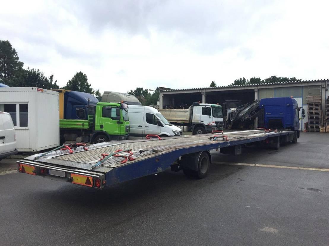 autotransporter vrachtwagen MAN 8.250 mit Anh./gr. Haus/6 Zyl. 2013