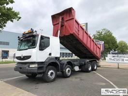 kipper vrachtwagen > 7.5 t Renault Kerax 420 Full steel - Manual - Big axles - Airco 2004