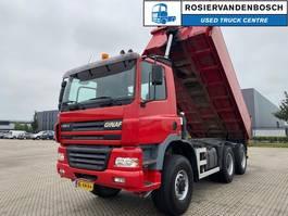kipper vrachtwagen > 7.5 t Ginaf 3333 S 6X6 ACHTEROVERKIPPER 2002