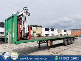 platte oplegger Kaiser KENNIS 16000 roller crane 3x hydr 2006