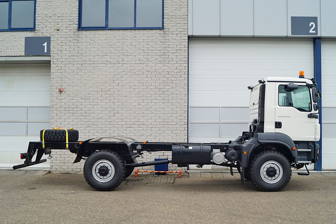 chassis cabine vrachtwagen MAN TGM 18 BB CHASSIS CABIN (20 units) 2021
