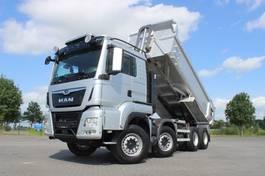 kipper vrachtwagen > 7.5 t MAN TGS 35.500 8X4 EURO 6 RETARDER  172.037 KM MULDEN 2017