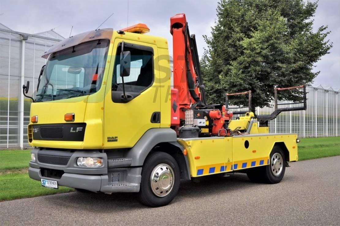takelwagen-bergingswagen-vrachtwagen DAF LF 55 WRECKER 2001