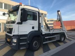 containersysteem vrachtwagen MAN TGS 18 4x2 BL Portaalarm 14 ton 2018