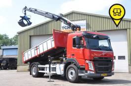 kipper vrachtwagen > 7.5 t Volvo FM 330 KIPPER / KRAN. 38506 KM.NL-TRUCK 2018