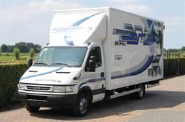 gesloten bestelwagen Iveco 50C14 AIRCO MEUBELBAK-KOFFER L 6.00 PAARDENWAGEN OMBOUW 2005