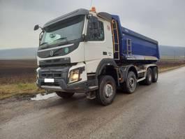 kipper vrachtwagen > 7.5 t Volvo FMX 500 8x6 manual 2016