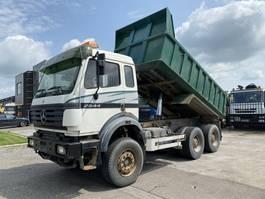 kipper vrachtwagen > 7.5 t Mercedes-Benz SK 2544 6X4 FULL STEEL - HUB REDUCTION - EURO 2 - 3 PEDALS + TIPPER 1995