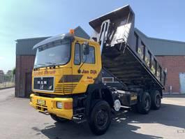 kipper vrachtwagen > 7.5 t MAN 27.322 DFA 6x6 Kipper - Full steel - 1993 - Holland truck - 5791 1993