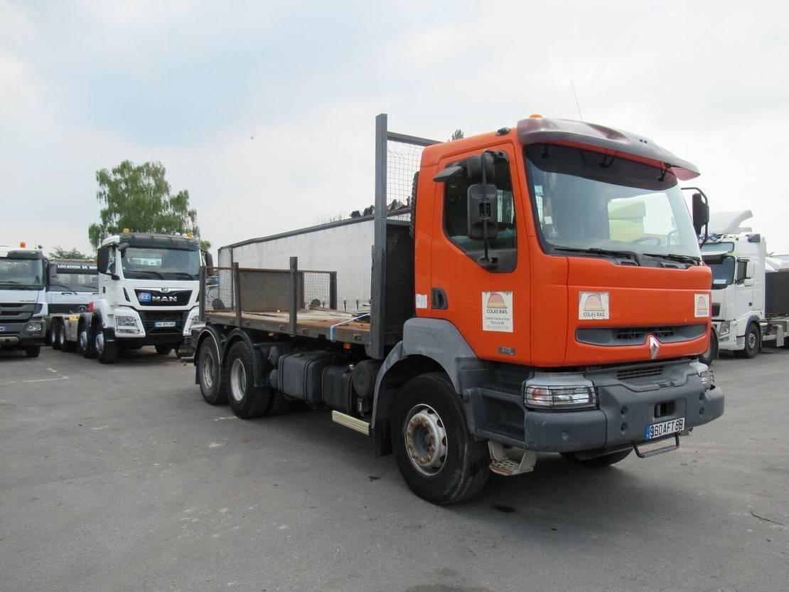 chassis cabine vrachtwagen Renault Kerax 370 2005