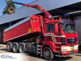 kipper vrachtwagen > 7.5 t MAN TGS 35 HMF 1642 Z2, 8x4 Triple, Euro 4, Truckcenter Apeldoorn 2009