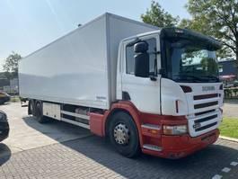 bakwagen vrachtwagen Scania P230 6X2 - 220.338 KM - BOX 9,70 METER + LAADKLEP 2007