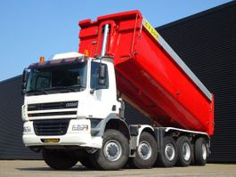 kipper vrachtwagen > 7.5 t Ginaf X 5450 DAF S / 10x8 / MANUAL GEARBOX / 28.7 m3 TIPPER 2002