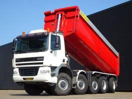 kipper vrachtwagen > 7.5 t Ginaf X 5450 S / 10x8 / MANUAL GEARBOX / 28.7 m3 TIPPER 2002