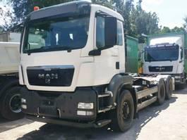 containersysteem vrachtwagen MAN TGS 28 BL 6x4 HydroDrive, Palift T20 TGS 28.400 BL 6x4 HydroDrive, Palift T20 2012